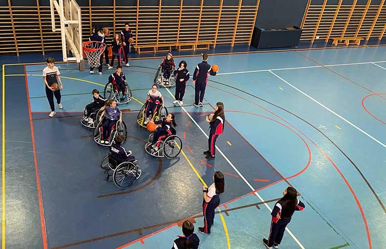 Deporte Inclusivo Arcángel Colegio