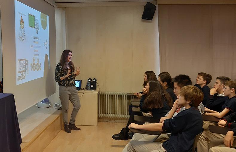 Día de la Mujer y la Niña en la Ciencia colegio Arcángel